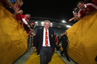 The Northern Hemisphere's World Cup prospects are looking up after Warren Gatland led the Lions to a series win across the Tasman. Photo / Getty Images