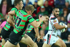 Thomas Leuluai and the Warriors played in Perth a week ago; they could have a game in Dubai in 2015. Photo / Getty Images