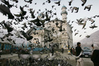 The Shah-e-Doshamshera's mosque in Kabul. Photo / AP