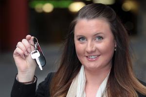 Nicola Piper recovered her stolen car through Facebook. Photo / Doug Sherring