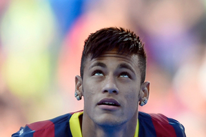 Neymar has been touted as the next big thing since he was 14. Photo / AP