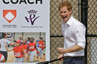 Prince Harry is due to become an uncle this month.Photo / AP
