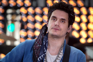 Singer John Mayer performs during the Today Show in New York. Photo / AP