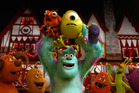 Mike and Sully in a scene from