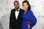 Kanye West and girlfriend Kim Kardashian recently welcomed a new baby.Photo / AP