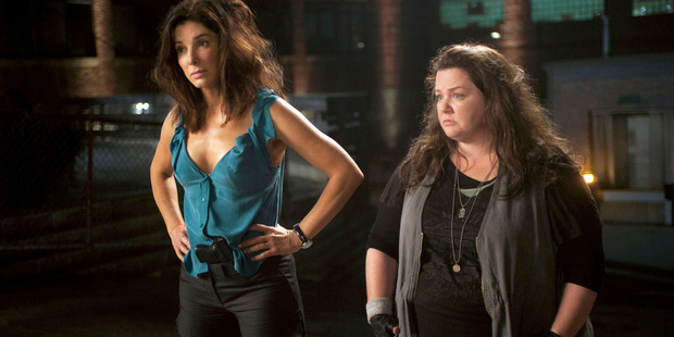 Loading Sandra Bullock and Melissa McCarthy in 'The Heat'.
