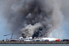 Until the Asiana crash at San Francisco on Sunday, this year had been-crash free. Photo / AP
