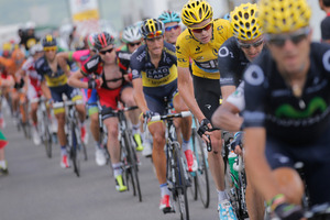 Most Tour cyclists will need to consume 2 litres of fluid an hour to stay hydrated. Photo / AP