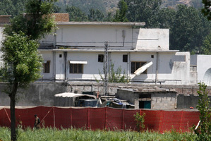 Osama bin Laden lived undetected for more than six years in this custom-built compound in Abbottabad, in northern Pakistan, with his three wives. Photo / AP