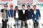 Boy band Titanium at last year's Vodafone NZ Music Awards. Photo / NZ Herald