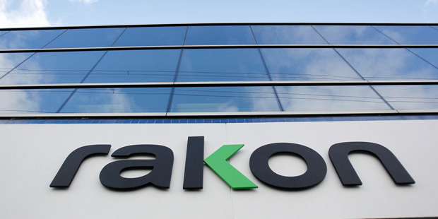 A jump in the Rakon share price before a major announcement last week has prompted the Shareholders Assn to contact the NZX. Photo / NZ Herald