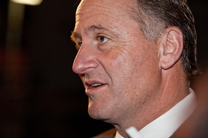 Mr Shearer said he would be willing to talk to Mr John Key if he approached him. Photo / Neville Mariner