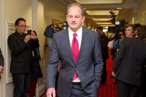 David Shearer persuaded the party's council to drop the 'man ban' selection process proposal days after it was raised. Photo / Mark Mitchell
