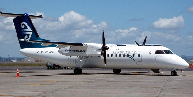 Air New Zealand says it will start using larger, 50-seat Bombardier Q300 aircraft for some flights to and from Whangarei Airport. Photo / NZ Herald