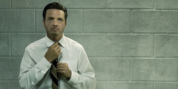 Aden Young as Daniel Holden in 'Rectify'.