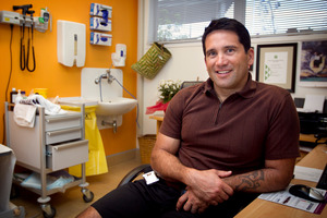 Kaitaia GP Lance O'Sullivan has set up the school-based health programme Moko, which provides medical care for up to 2000 children. Photo / Natalie Slade