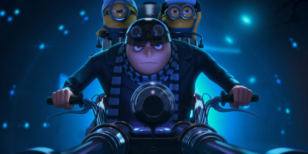 Loading Despicable Me 2.