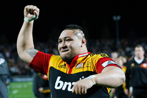 The Chiefs will be desperate to beat the Blues in Auckland on Saturday. Photo / Christine Cornege
