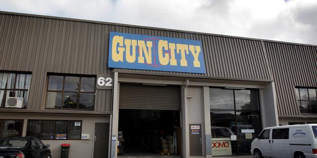 Gun City at 62 Carr Rd, Three Kings. Photo / Sarah Ivey