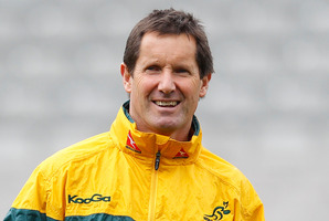 Wallabies coach Robbie Deans. Photo / NZPA
