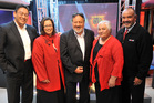 The Maori Party's five 2008 MPs, (from left) Hone Harawira, Rahui Katene, Pita Sharples, Tariana Turia and Te Ururoa Flavell.