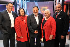 The Maori Party's five 2008 MPs, (from left) Hone Harawira, Rahui Katene, Pita Sharples, Tariana Turia and Te Ururoa Flavell.
