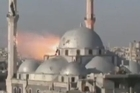 Videos provided by an activist group show what it says is ongoing violence and airstrikes in Homs by forces loyal to Syrian President Bashar Assad. The videos have been authenticated based on their contents and other AP reporting.