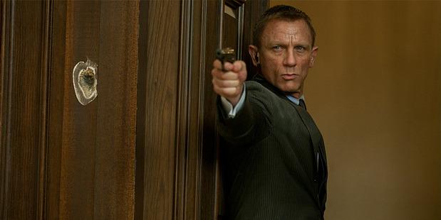Daniel Craig in a scene from Skyfall.