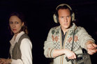 Vera Farmiga and Patrick Wilson in a scene from The Conjuring.