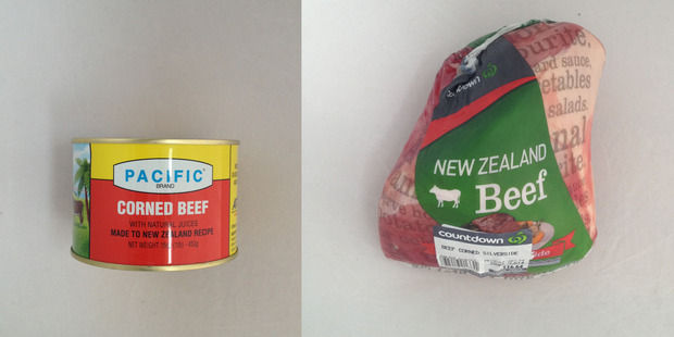 Pacific Corned Beef. $7.99 for 453g, Corned Beef Silverside. $16.64 for 1.514 kg.