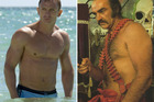 Daniel Craig and Sean Connery - the hairless and hairy
