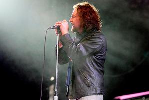 Pearl Jam frontman Eddie Vedder. Photo/Dean Purcell