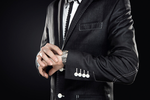Imagine a watch with no hands or digital display. Photo / Thinkstock