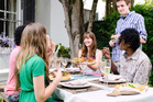 Wearing smart casual at a dinner party is a no-brainer.Photo / Thinkstock