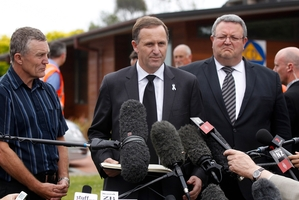 "John Key is full of ""sympathy"" for Pike River victims. Photo / Getty Images"