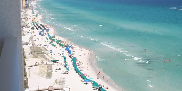 Pensacola beach in Florida's western Panhandle. Photo / Supplied