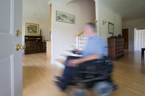 Researchers are creating a new way for electric wheelchairs to be controlled. Photo / Thinkstock