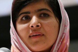Malala Yousafzai. Photo / AP