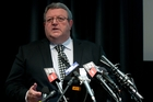 Earthquake Recovery Minister Gerry Brownlee. Photo / NZPA