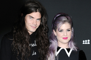 Matthew Mosshart and Kelly Osbourne are engaged, saying they want to be together 'all the time'. Photo / AP