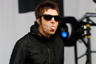 Liam Gallagher is being sued over claims he fathered a child. Photo / AP