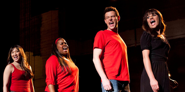 Cory Monteith in a scene from Glee. Photo / AP
