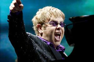 Elton John's Tiny Dancer contains the worst misquoted lyrics, according to a New Zealand poll. Photo / AP
