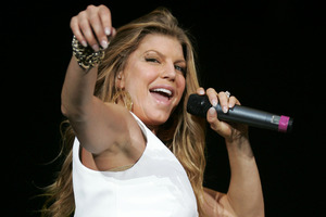 Fergie is changing her name. Photo / Tim Hales/NZPA