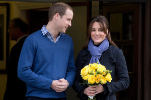 Prince William and his wife Kate, Duchess of Cambridge. Photo / AP