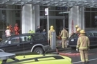 Health Ministry staff were put on alert during lunch after an envelope containing white powder was found in the central Wellington building at 12.20pm.  Police central communications Inspector Ken Climo said the building, located on The Terrace, was cordoned off briefly while emergency services responded to the event.  Members of the army and fire services also attended.