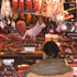 Pigging out: Hams, salamis and pork delicacies abound in La Boqueria market. Photo / Ewan McDonald