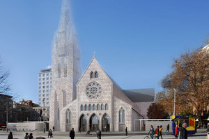 One of the proposed models for the new Cathedral.