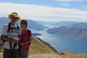 Heather and Barry Kane's postcards home to Ireland from New Zealand took up to four months to arrive.