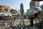 Kuala Lumpur's Bukit Bintang shopping district. Photo / Bloomberg